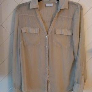 NY & Co long sleeve blouse